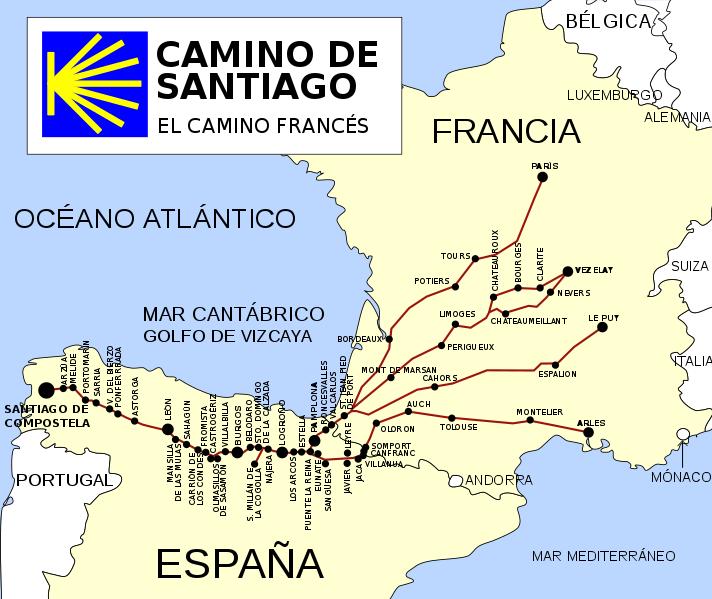 法國之路(圖/維基百科)