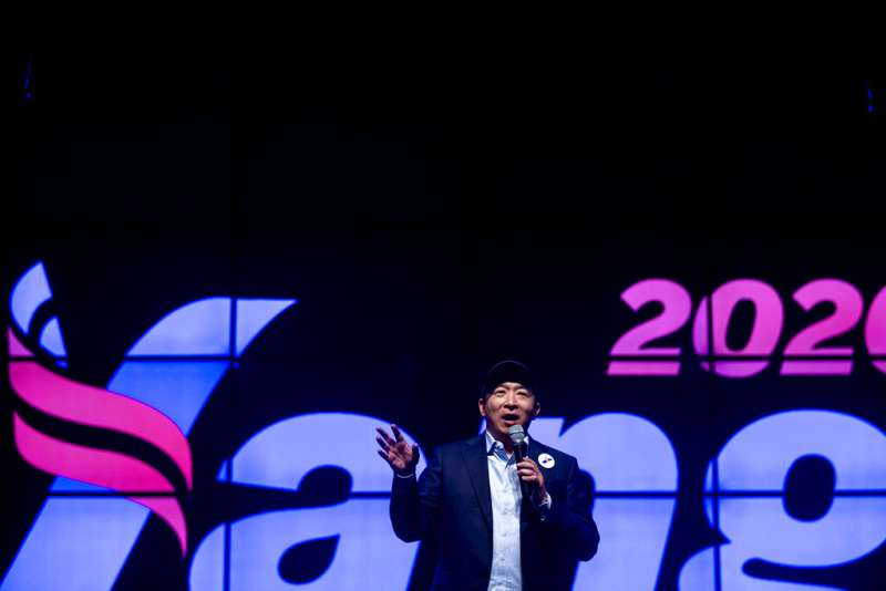 民主黨籍總統參選人楊安澤警告,自動化科技將衝擊就業市場。(美聯社)