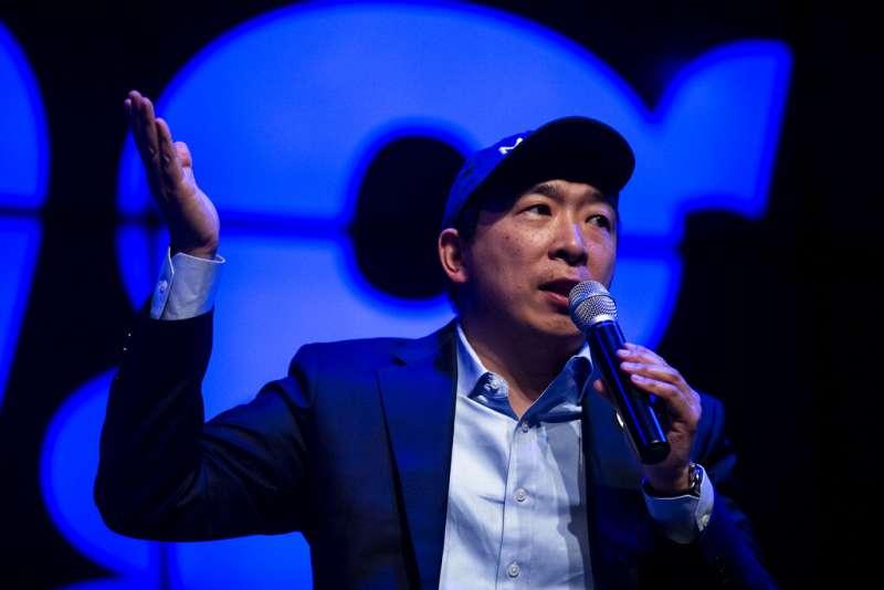 民主黨籍總統參選人楊安澤將參與黨內初選辯論。(美聯社)