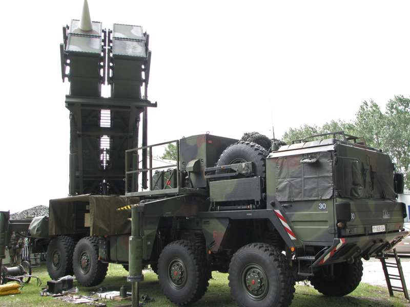 美製「愛國者」防空飛彈(MIM-104 Patriot)(Darkone@Wikipedia / CC BY-SA 2.5)