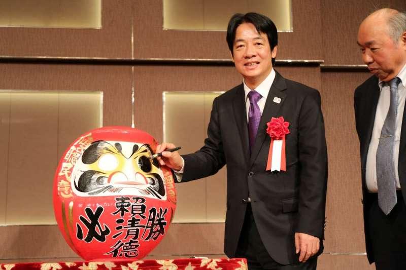 20190512_前行政院長賴清德訪問日本。(賴清德辦公室提供)