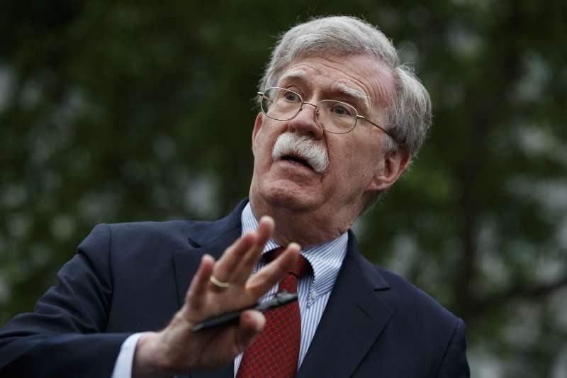 美國白宮國家安全顧問波頓(John Bolton)(AP)