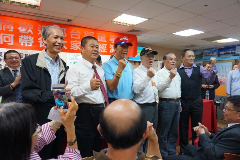 郭台銘作為國民黨總統參選人,正式展開「傾聽之旅」,選擇台中作為出發點。(作者提供)
