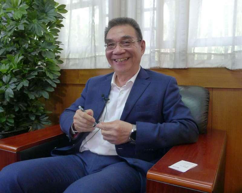 鐘鼎山林、人各有志,林毅夫表示他沒有愧對老師、朋友。(郭宏治攝)