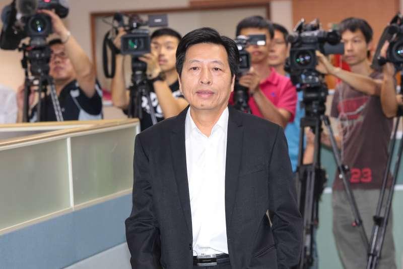 20190515-民進黨立委鄭寶清15日出席民進黨中常會。(顏麟宇攝)