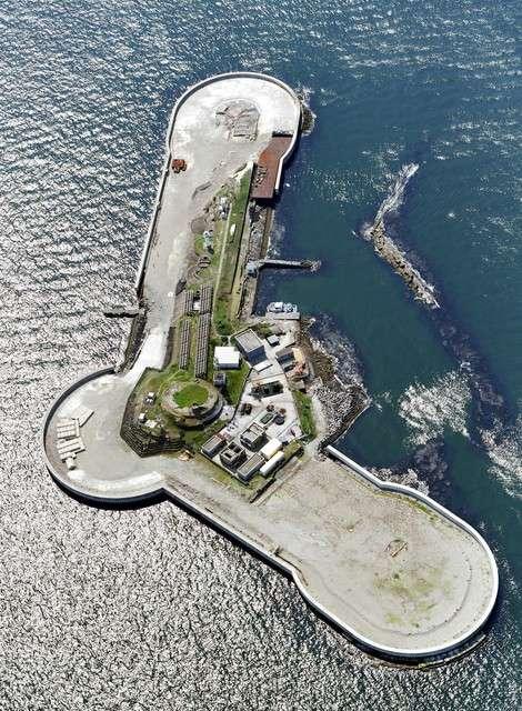 第二海堡位於千葉縣富津市富津岬以西約3.5公里處的東京灣。(圖/潮日本提供)