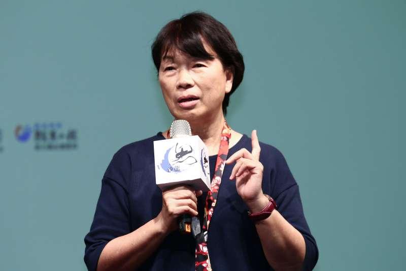 20190518-龍應台18日出席「孤獨世紀的來臨」演講會。(蔡親傑攝)