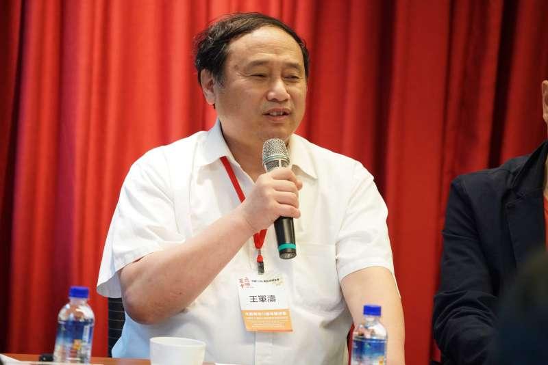 20190520-台灣民主基金會「六四30週年看中國對民主人權之威脅」座談會,六四民運領袖王軍濤出席。(盧逸峰攝)