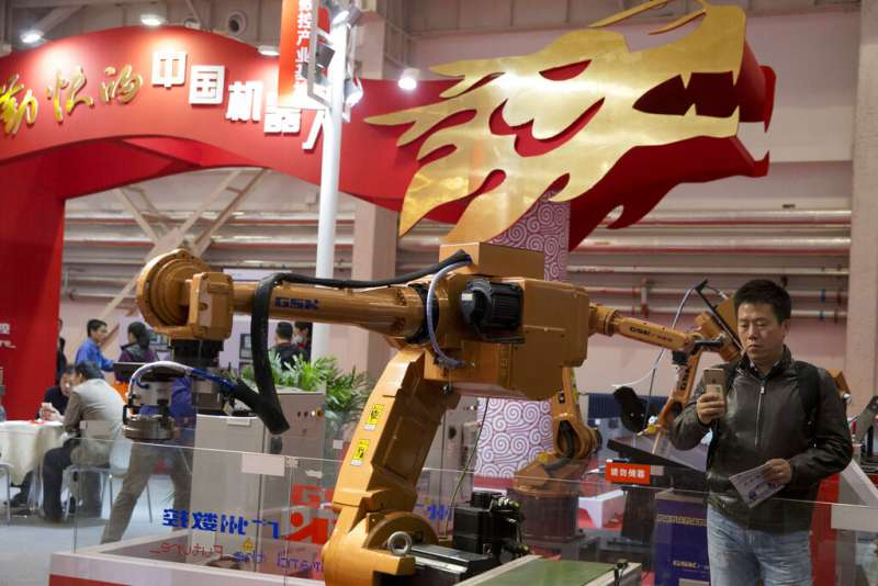 中美貿易戰、中國製造2025、知識產權。(美聯社)