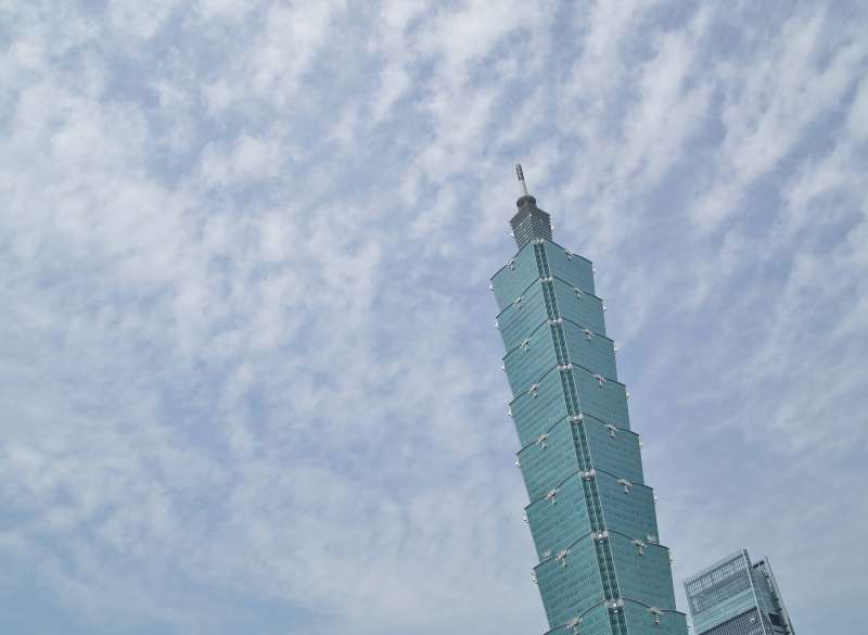 20190521-台北101大樓。(盧逸峰攝)