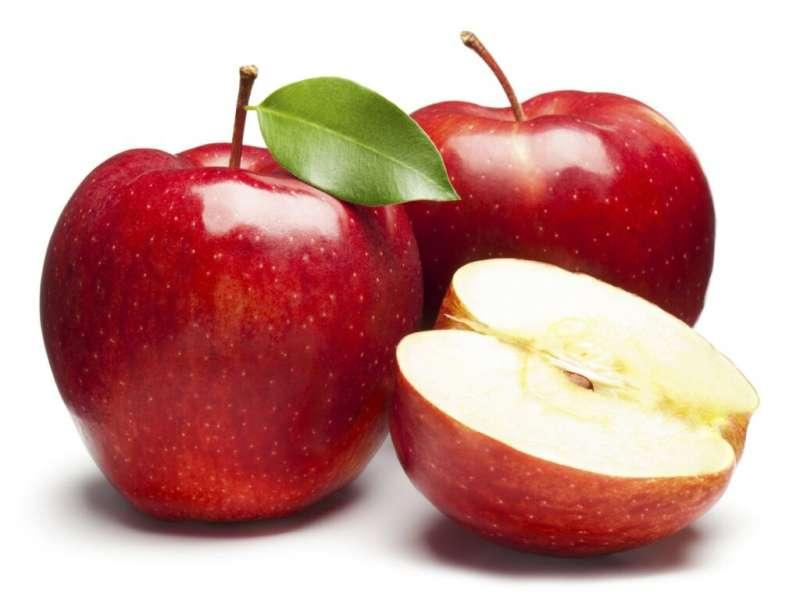 蘋果從皮到肉都能排毒。(圖/Health Blog提供)