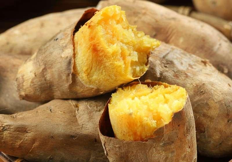 地瓜含有豐富的膳食纖維,能增加糞便體積,促進腸道蠕動,將腸道內的毒素、宿便清除。(圖/Health Blog提供)