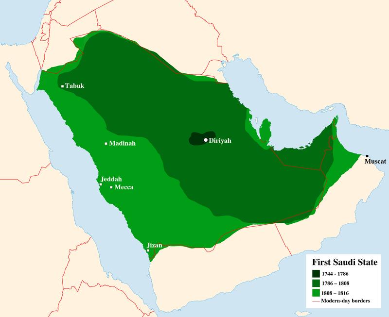 德拉伊耶酋長國地圖。(作者提供)