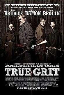 20190522-二○一○年《真實的勇氣》(True Grit),略少於四千萬美元的成本,全球票房收了兩億五千萬。(取自維基百科)