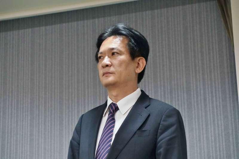 20190522-民進黨中執會,立委林俊憲出席。(盧逸峰攝)