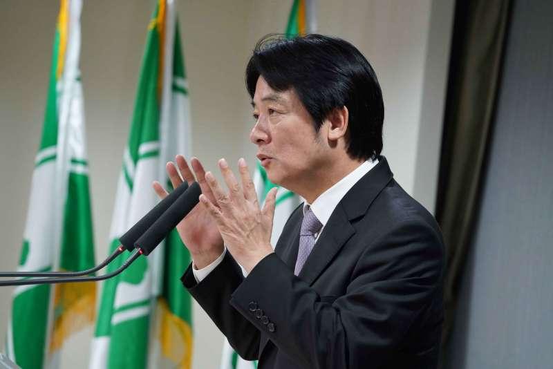 20190522-民進黨中執會,會後前行政院長賴清德受訪。(盧逸峰攝)