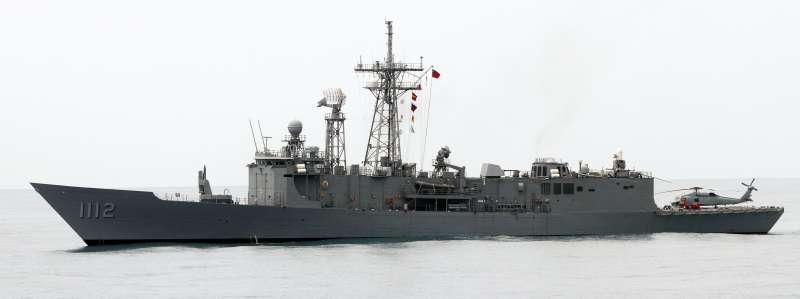 20190523-海軍22日在東部海域進行戰備任務訓練,去年底剛成軍的派里級銘傳、逢甲艦也投入此次操演。圖為銘傳軍艦。(蘇仲泓攝)