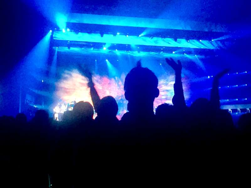 20190523-演唱會現場。(作者提供)