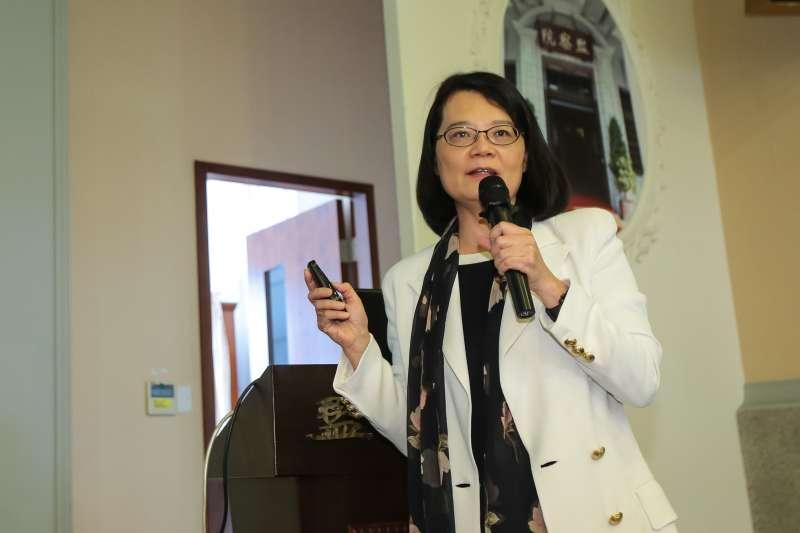 20190524-監察委員王美玉24日召開「戒嚴時期泰源事件真相記者會」。(顏麟宇攝)
