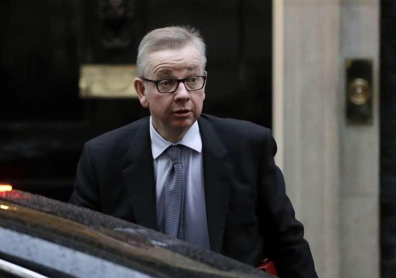 英國環境大臣戈夫(Michael Gove)(AP)