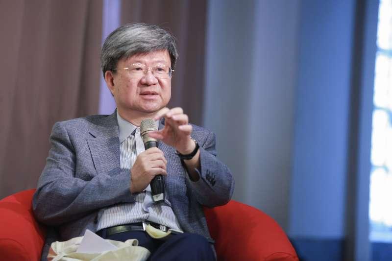 20190525-前教育部長 吳思華25日出席長風基金會舉辦的2019【突破論壇】高教鬆綁研討會。(簡必丞攝)