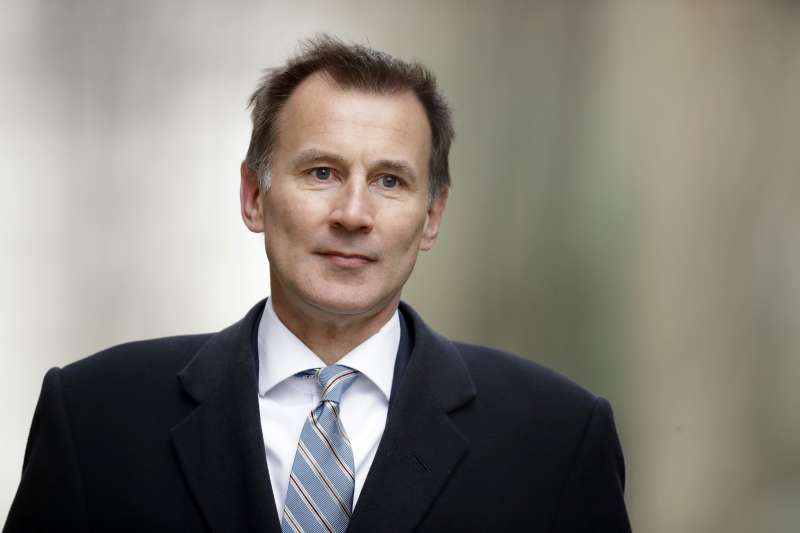 英國外相杭特(Jeremy Hunt)(AP)