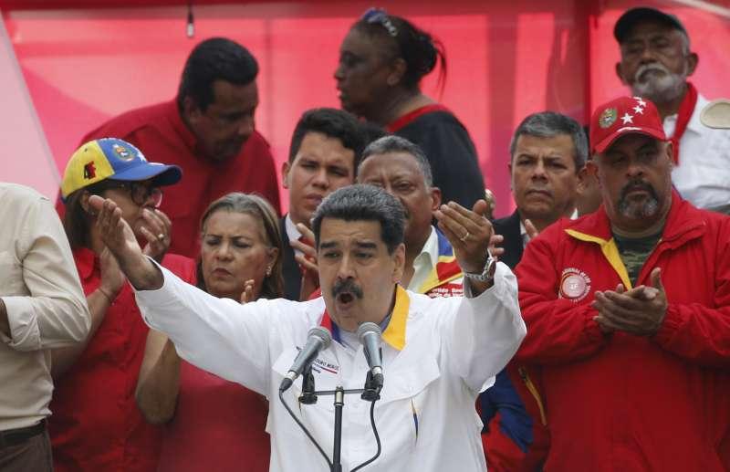 委內瑞拉總統馬杜洛(AP)