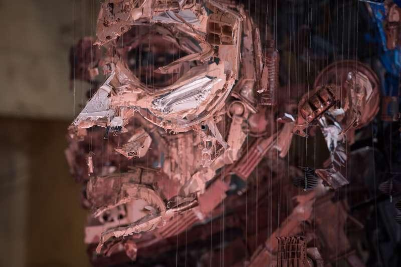 THE BODY SHOP再生裝置藝術使用由班加羅爾的拾…日公開展出(圖/THE BODY SHOP)