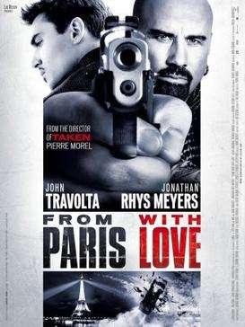盧貝松2010年碟戰巴黎(From Paris With Love)電影海報。(取自維基百科)