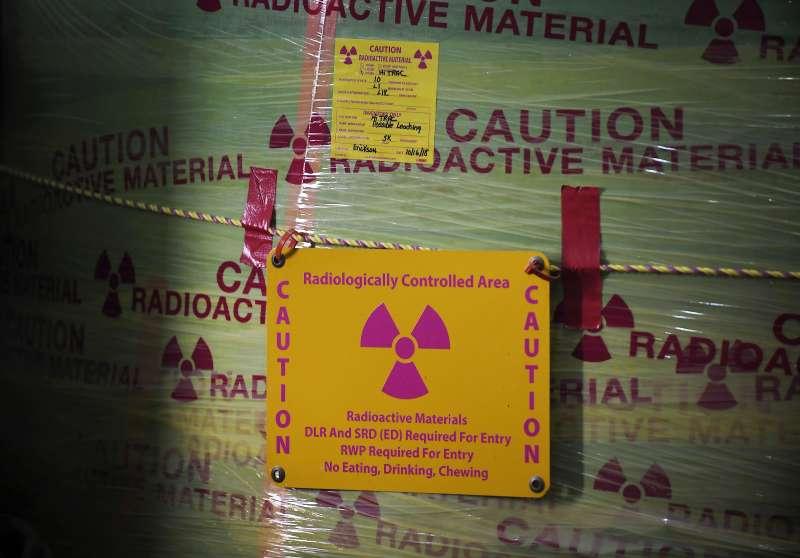 有害化學物品。(AP)
