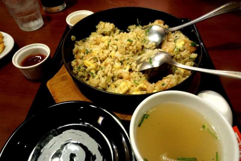 除了拉麵之外,花月嵐的炒飯也是眾所公認的好吃啊!(圖/潘渝霈攝)