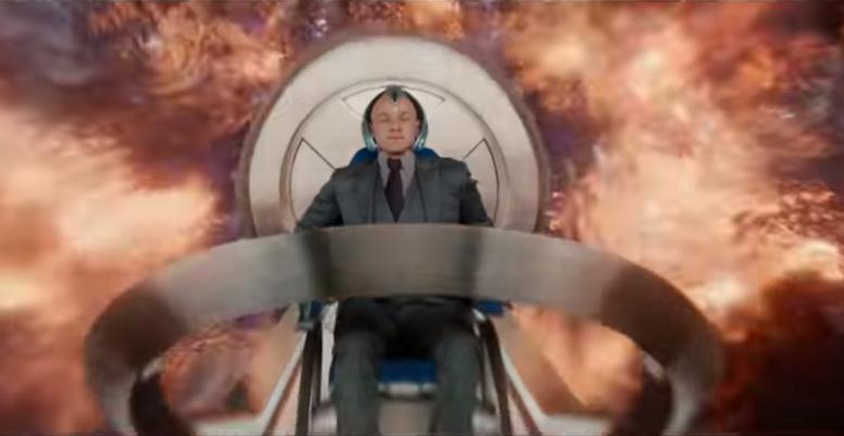 查爾斯戴上腦波強化機後被大火吞噬,可能就是琴葛雷的鳳凰之力覺醒後,試圖攻擊查爾斯的結果。(YouTube截圖)