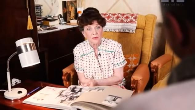 謝爾蓋前女友瓦倫蒂娜(圖/取自youtube)