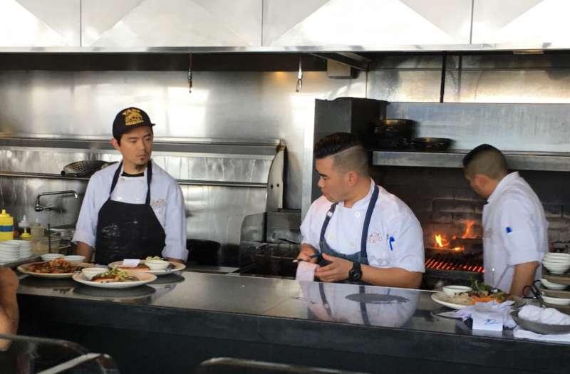 吉姆曾在舊金山知名現代越南餐廳「窄門」工作(來源:Jim Chen)