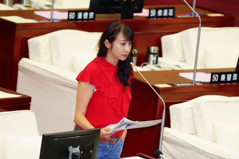 20190530-台北市議會市政總質詢,議員許淑華出席。(盧逸峰攝)