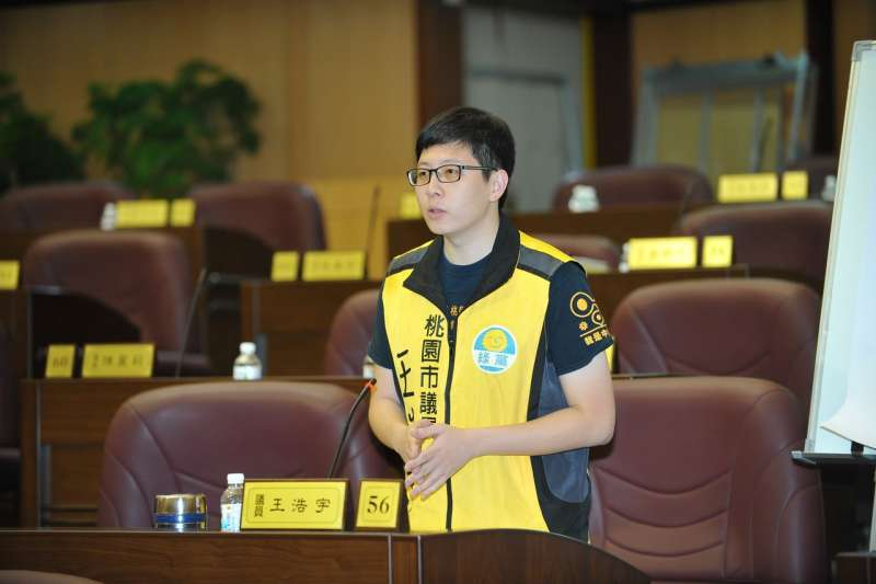 20190601-桃園市議員王浩宇昨(31)日在臉書發文,聲稱自己看過與高雄市長韓國瑜爆婚外情的「王小姐」數百張照片,並留有備份。(資料照,取自王浩宇臉書)