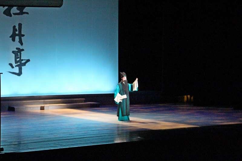 20190602_崑劇「校園傳承版《牡丹亭》」在高雄社教館演出。(高雄市政府提供)