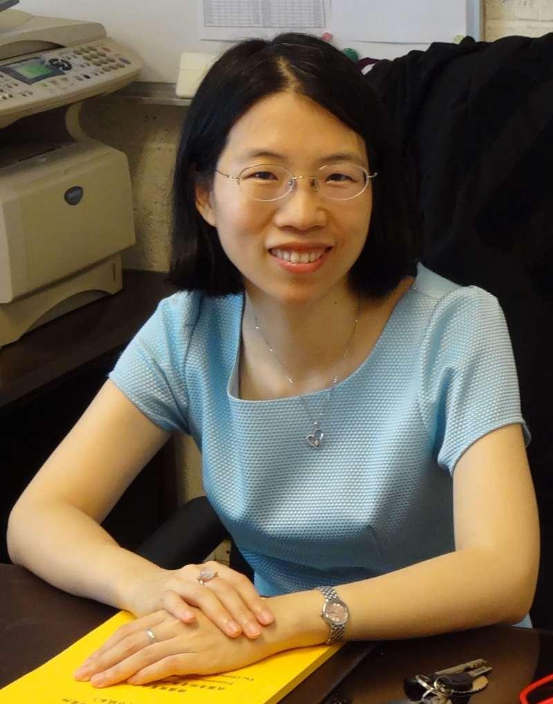 20190602 upload-台灣同婚專法法案起草人之一、清華大學科技法律研究所副教授林昀嫺。(取自清大科技法律研究所官網)