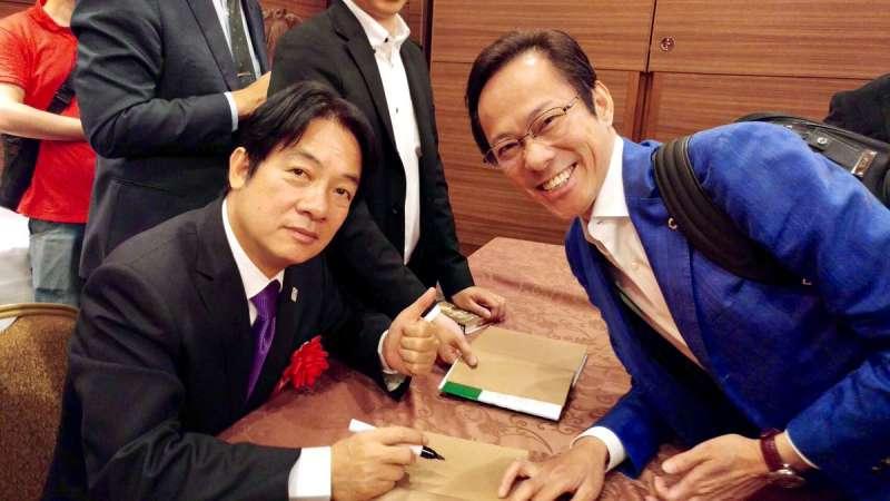 除了日本的政治,李小牧對台灣的政治人物也有關心。(圖/翻攝自李小牧twitter,leekomaki@twitter)