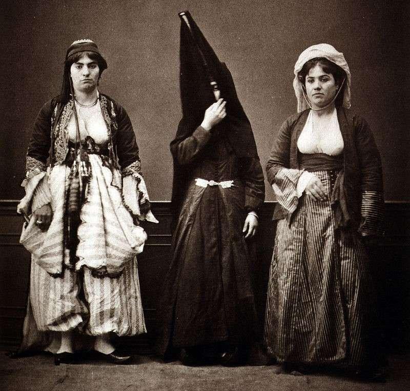 21090606-黎巴嫩婦女。(劉燕婷提供)