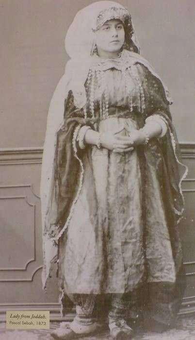 20190606-1873年的吉達婦女。(劉燕婷提供)