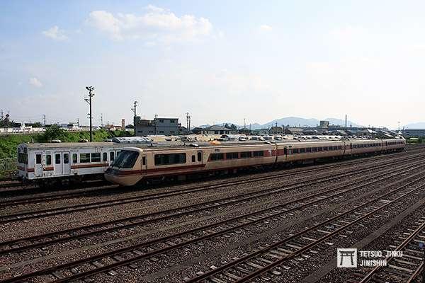 當年仍放在美濃太田車輛區的381系第一編成,但移至「磁浮.鐵道館」後,只剩下先頭車。(攝影/陳威臣)