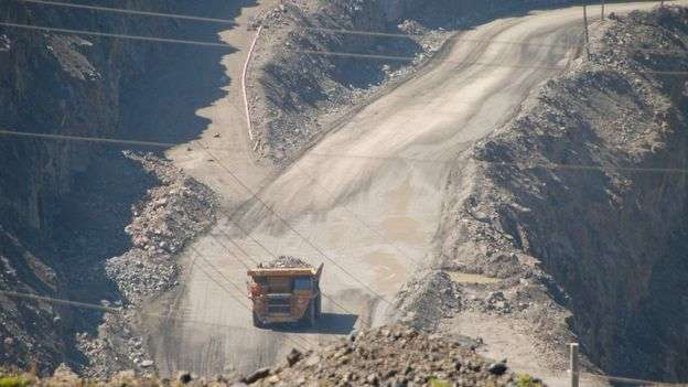 稀土礦開採和初步加工的環境成本很高