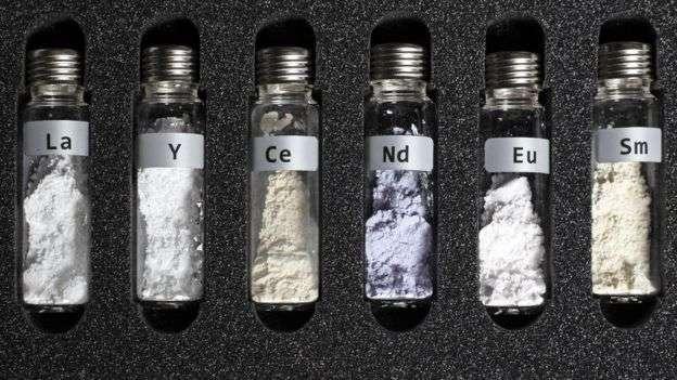 稀土不是土,是17種化學元素的總稱,也可叫稀有金屬礦物
