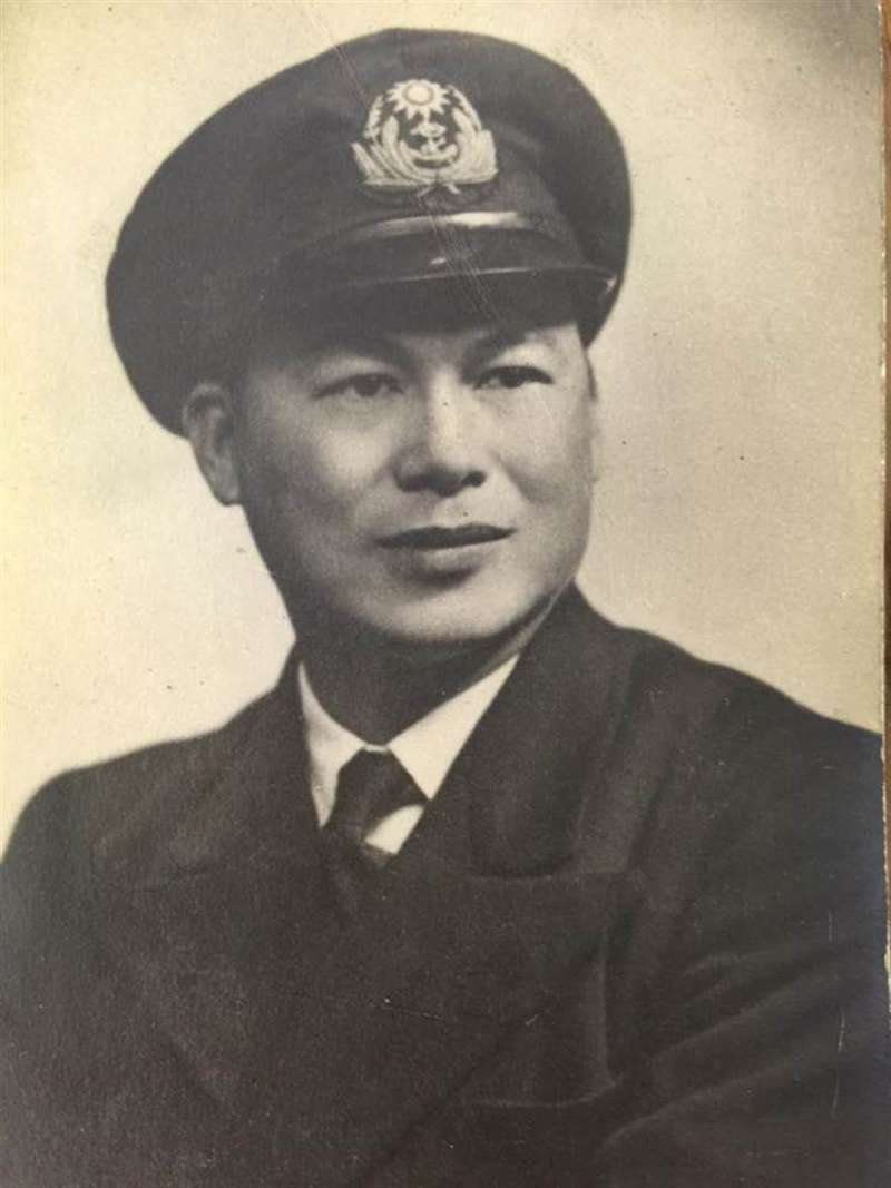 另外一位諾曼第登陸的參與者,晚年定居香港的林炳堯中校。(李崇威提供)