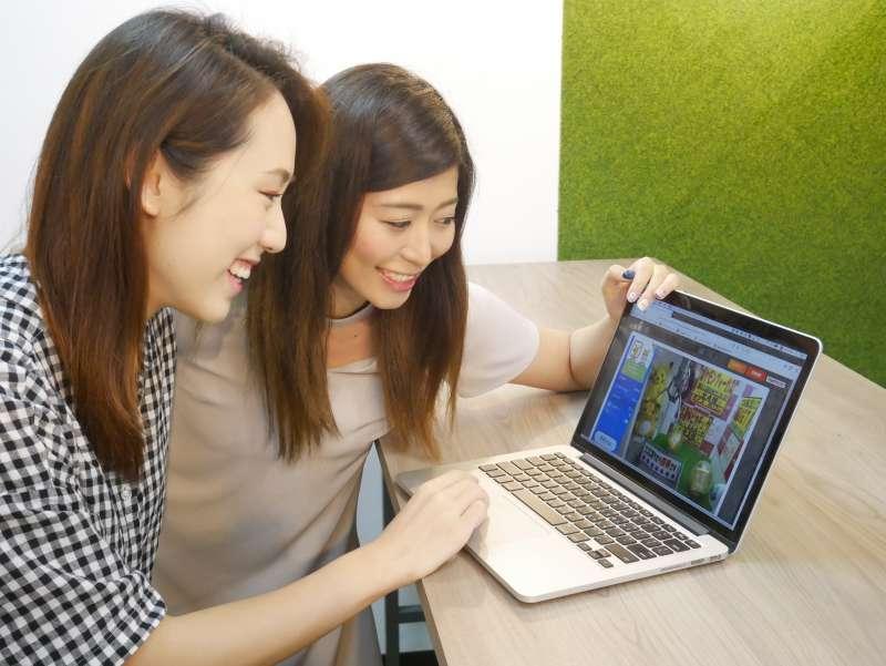 「ToRu夢」操作簡單,現場還有工作人員待命,能隨時解決突發問題 (圖/BANDAI NAMCO)