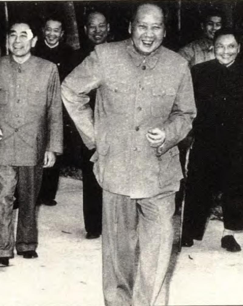 20190613 upload-新新聞0118期-六四事件、北京大屠殺(5-4)-1960年毛澤東(中)、周恩來、和鄧小平三巨頭如影隨形。(新新聞資料室)