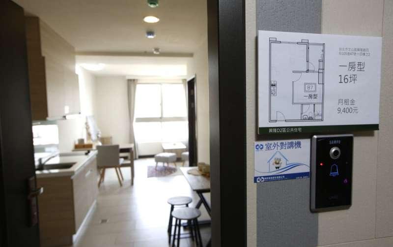 據內政部統計,截至五月底止,社會住宅包租代管媒合戶數僅4223戶,距離8萬戶目標還很遠。(郭晉瑋攝)