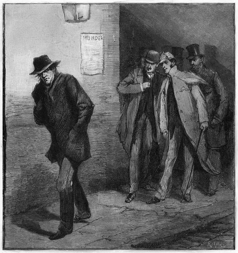 綽號開膛手傑克(Jack the Ripper)連續殺人魔,用極其殘忍的手段殺害了五名妓女。(示意圖/圖片取自維基百科)