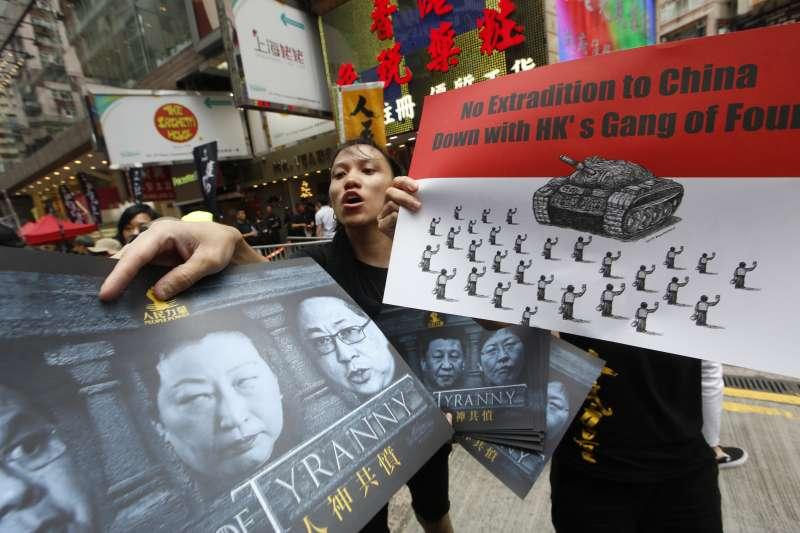 反對武力鎮壓 20190616_香港16日下午「反送中」大遊行。(新新聞郭晉瑋攝)